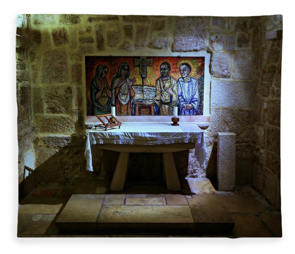 St. Jerome Chapel Fleece Blanket