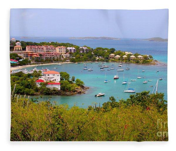 St John's View Fleece Blanket