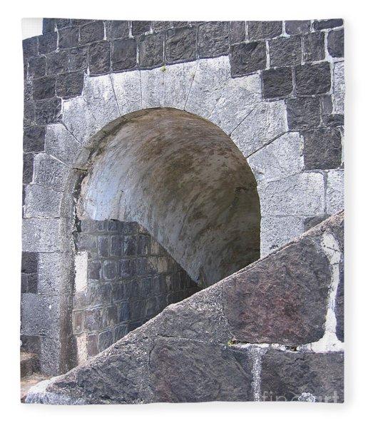 St. Kitts  - Brimstone Hill Fortress Fleece Blanket
