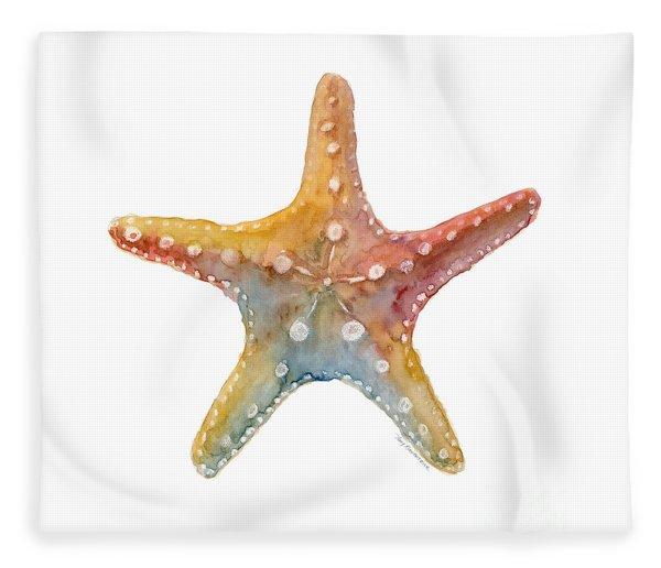 Starfish Fleece Blanket