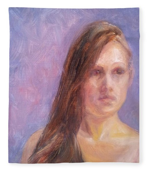Strength And Beauty - Mariah Fleece Blanket