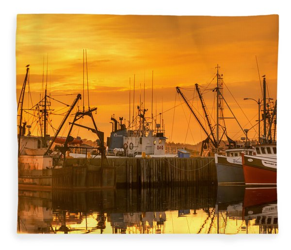 Fleece Blanket featuring the photograph Summer Nights by Garvin Hunter