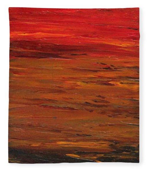 Sun Shade 1 Fleece Blanket