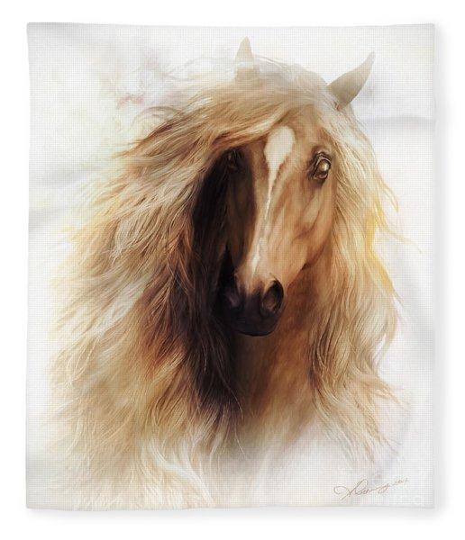 Sundance Horse Portrait Fleece Blanket