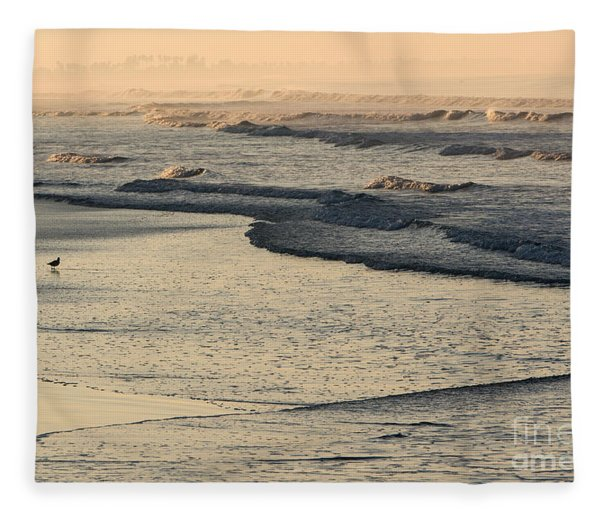 Sunrise On The Ocean Fleece Blanket