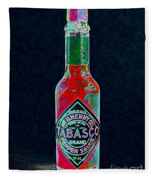 Tabasco Sauce 20130402 Fleece Blanket