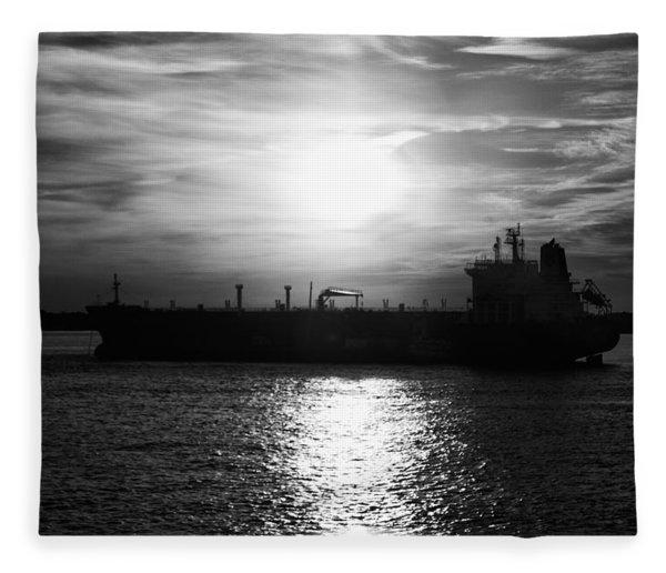 Tanker Twilight Fleece Blanket