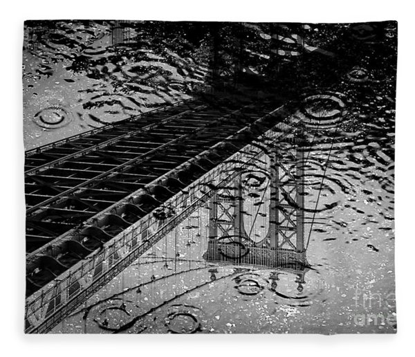 Tears Of New York Fleece Blanket