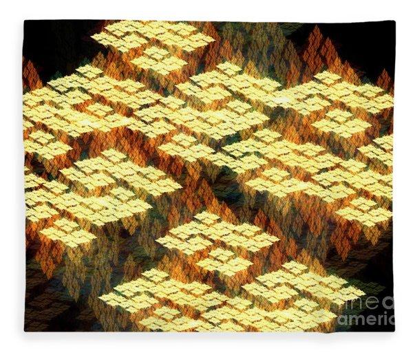 Tectonics Fleece Blanket