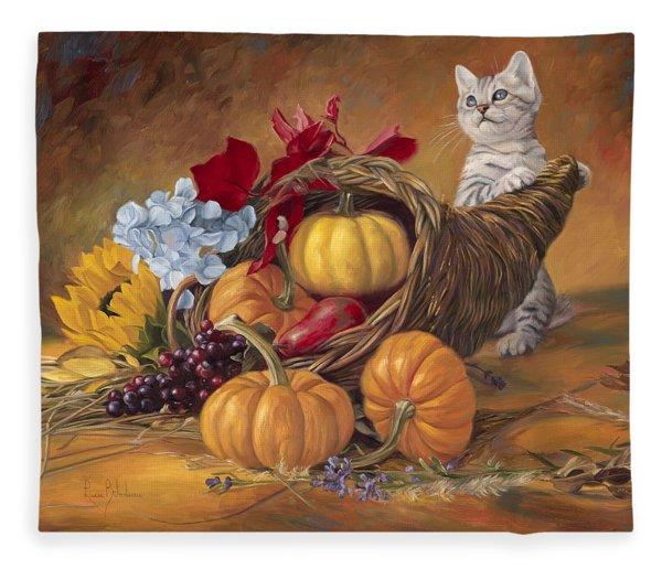 Thankful Fleece Blanket