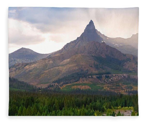 The Beartooth Mountains   Fleece Blanket