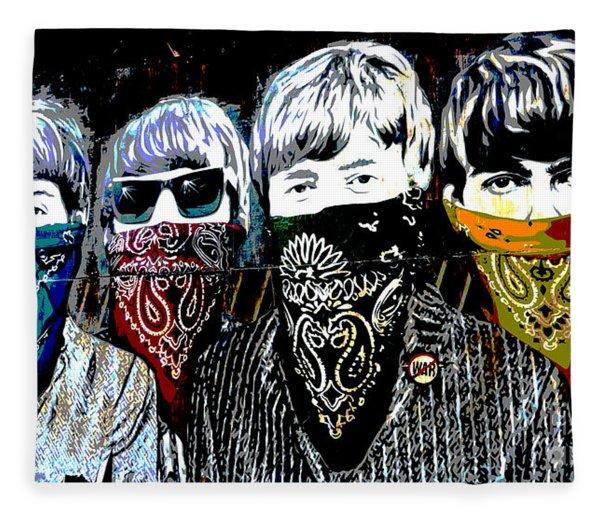 The Beatles Fleece Blanket