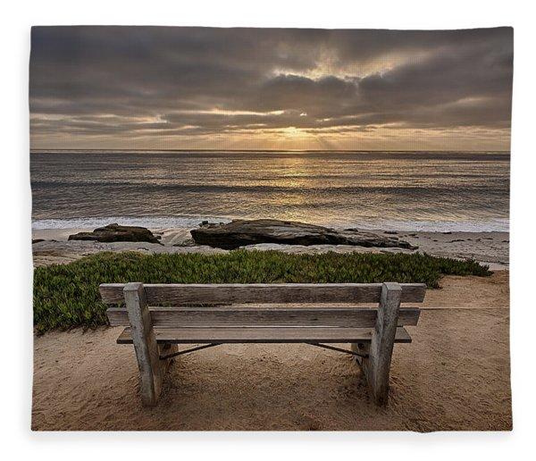 The Bench IIi Fleece Blanket