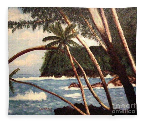 The Big Island Fleece Blanket