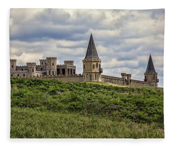 The Castle - Versailles Ky Fleece Blanket
