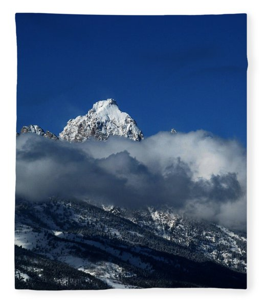 Fleece Blanket featuring the photograph The Clearing Storm by Raymond Salani III