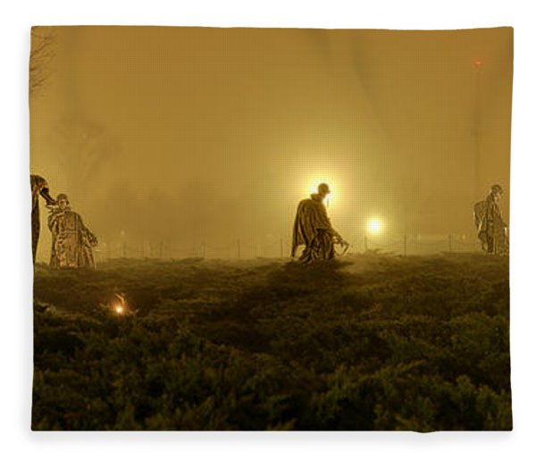 The Fog Of War #1 Fleece Blanket