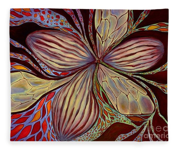 The Great Pollination Fleece Blanket