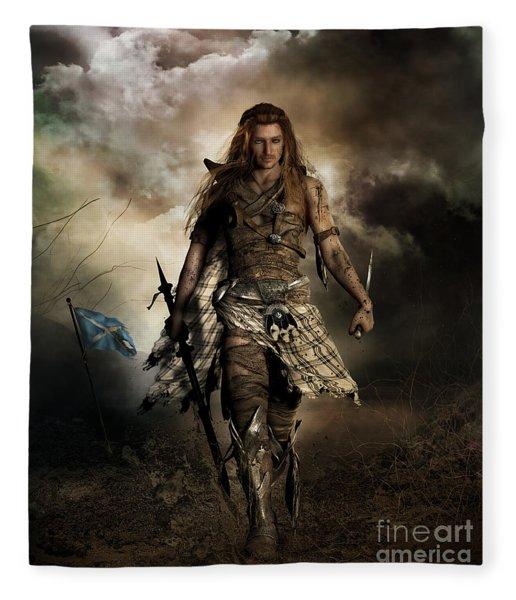 The Highlander Fleece Blanket