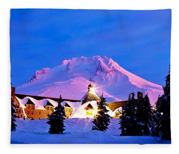 The Last Sunrise Fleece Blanket
