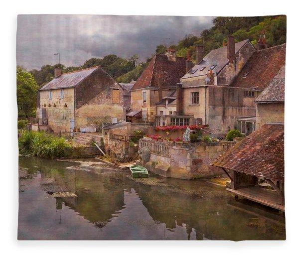 The Loir River Fleece Blanket
