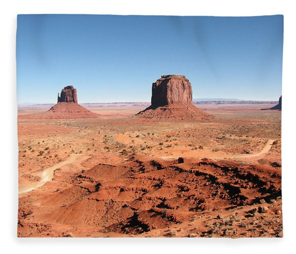 The Mittens Utah Fleece Blanket