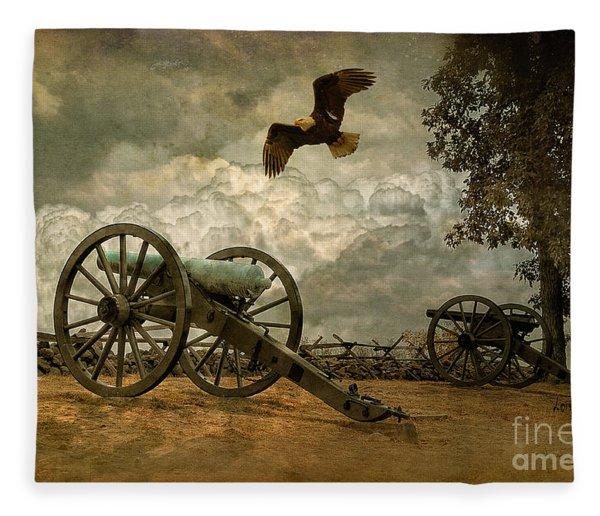 The Price Of Freedom Fleece Blanket
