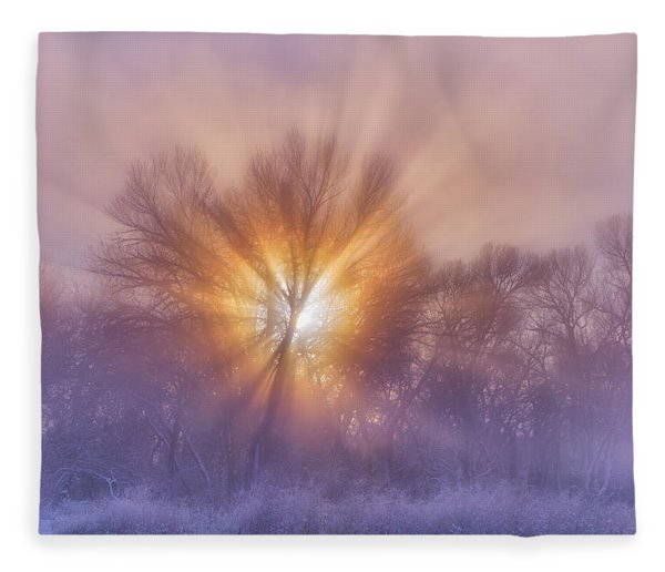 The Rising Fleece Blanket