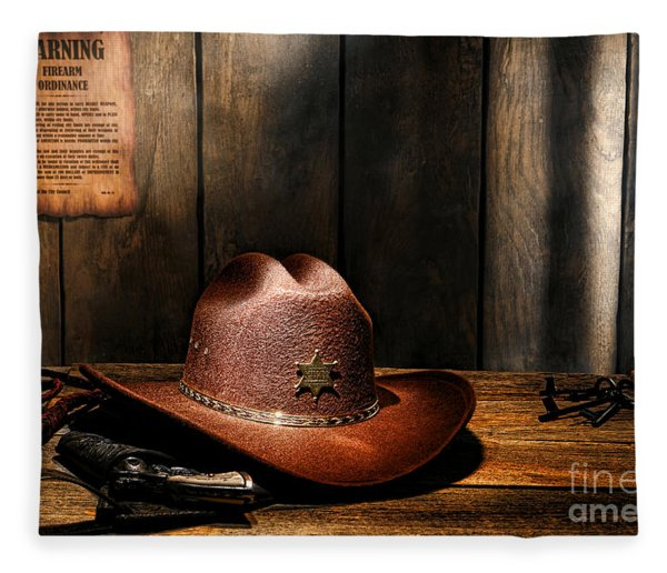 The Sheriff Office Fleece Blanket