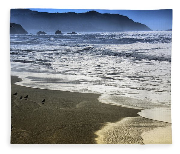 The Shore Fleece Blanket