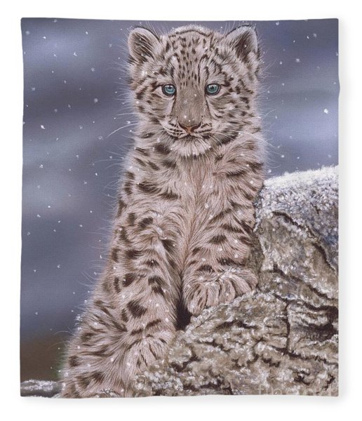 The Snow Prince Fleece Blanket