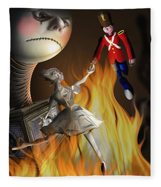 The Steadfast Tin Soldier ...the Envy... Fleece Blanket