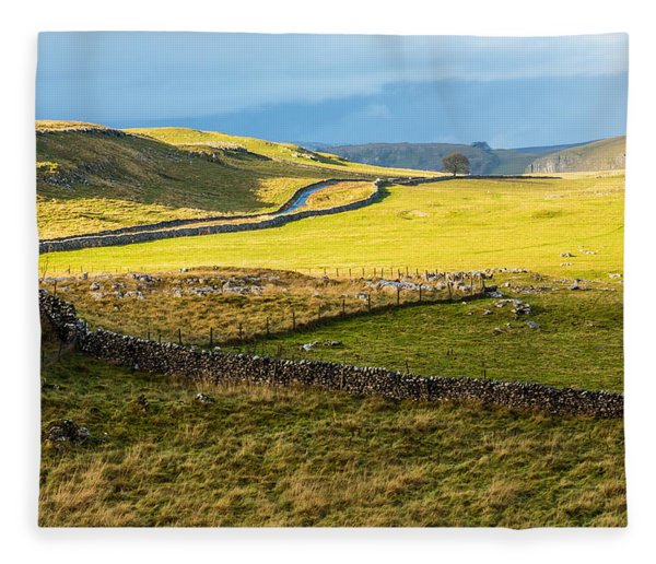 The Yorkshire Dales Fleece Blanket