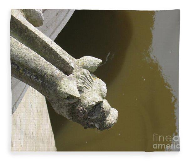 Thirsty Gargoyle Fleece Blanket