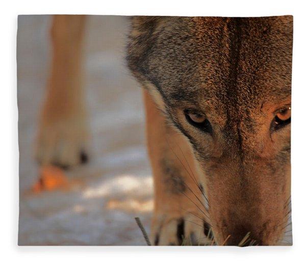 Those Eyes Fleece Blanket