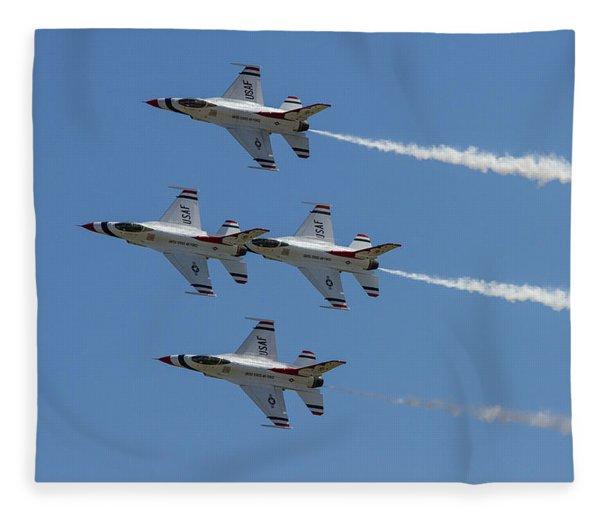 Thunderbirds II Fleece Blanket