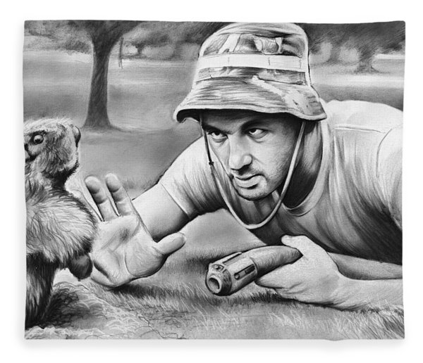 Tribute To Caddyshack Fleece Blanket