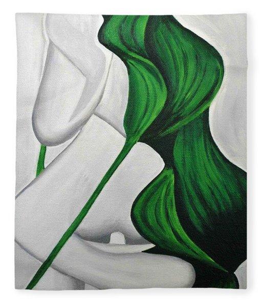 Tulips 1 Fleece Blanket