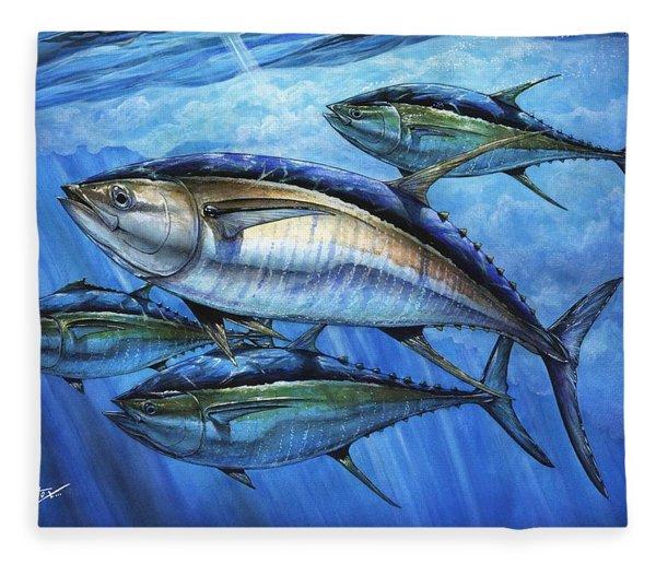 Tuna In Advanced Fleece Blanket