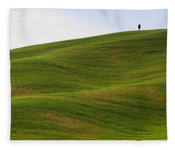 Tuscany Landscape Fleece Blanket