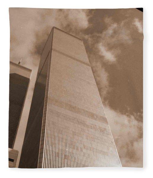 Twin Tower Fleece Blanket