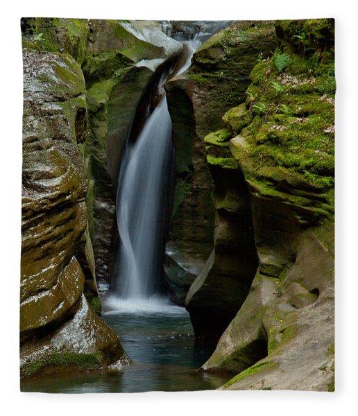 Un-named Falls Fleece Blanket