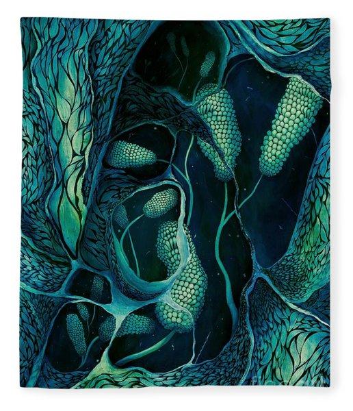 Underwater Revelation Fleece Blanket