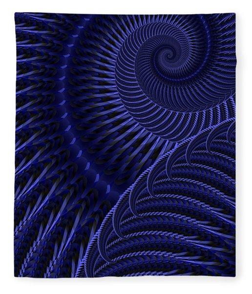 Fleece Blanket featuring the digital art Untitled 12/16/2011 by Matt Lindley