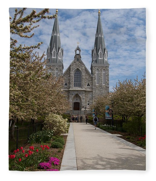 Villanova University Main Chapel  Fleece Blanket