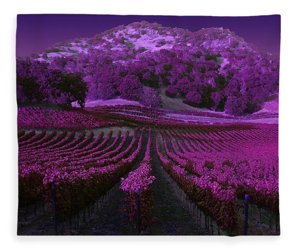 Vineyard 41 Fleece Blanket