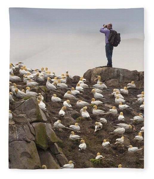 Welcome Explorers Fleece Blanket
