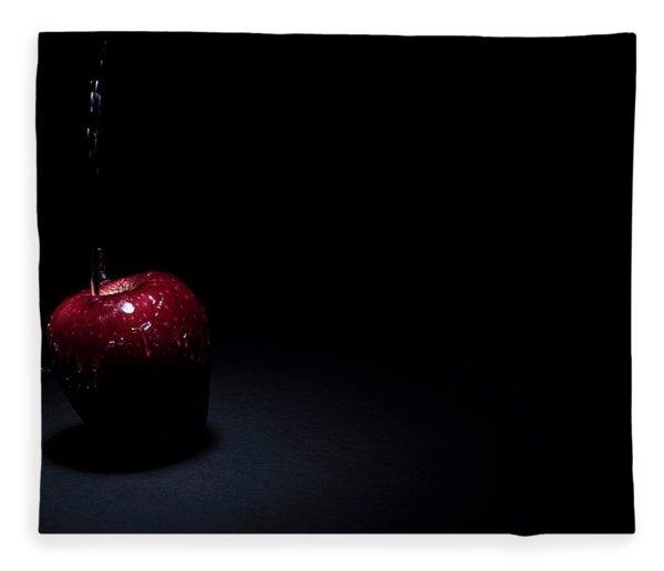 Wet Apple Fleece Blanket