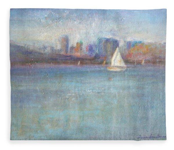 Wind In My Sails Fleece Blanket