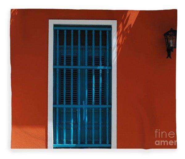 Window Fleece Blanket